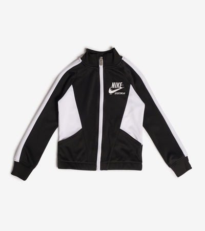 Nike  Girls Heritage Full Zip Hoodie  Black - 36G003-023 | Jimmy Jazz