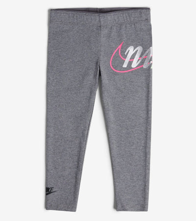 Nike  Girls NSW Swoosh Bubble Leggings  Grey - 36G044-GEH | Jimmy Jazz