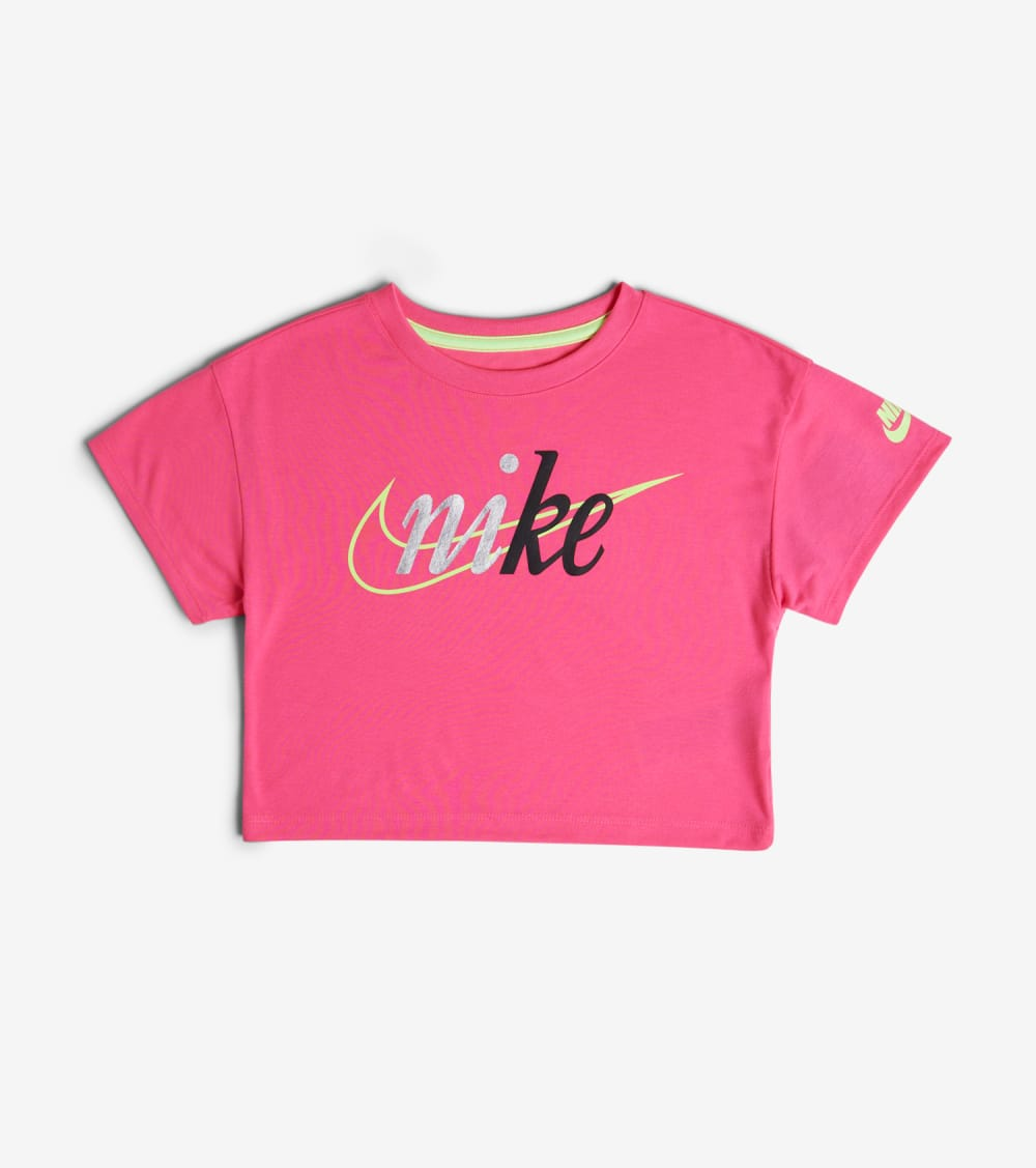 Nike  Girls 4-6X G NSW Top  Pink - 36G217-A96 | Jimmy Jazz