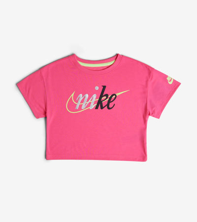 Nike  Girls NSW Cropped Top  Pink - 36G217-A96 | Jimmy Jazz