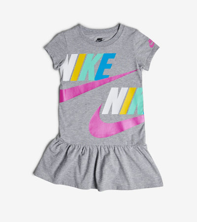 Nike  Girls 4-6X NSW Dress  Grey - 36G259-042 | Jimmy Jazz