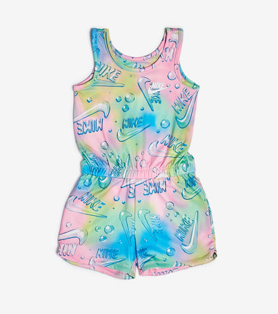 Nike  Girls Air Bubble Romper  Pink - 36G424-A8F | Jimmy Jazz