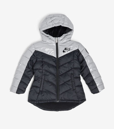 Nike  Girls Heavy Puffer Jacket  Black - 36G469G-023 | Jimmy Jazz