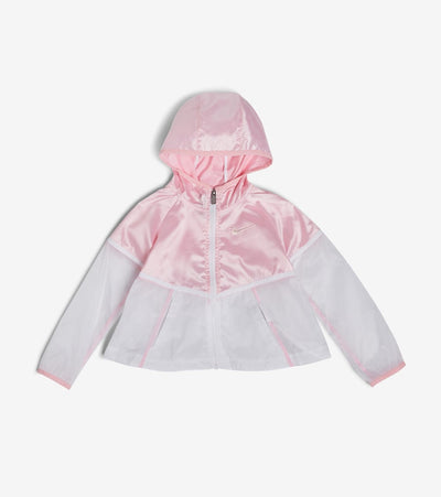 Nike  Girls Metallic Windrunner Jacket  Pink - 36G484G-A8F | Jimmy Jazz