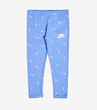 Nike  Girls Swooshfetti Leggings  Purple - 36G935-U8H | Jimmy Jazz