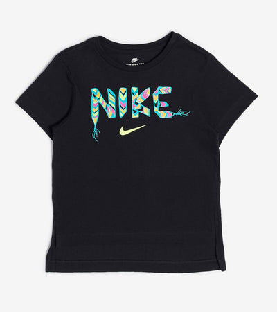Nike  Girls 4-6 Schools Out Tee  Black - 36H272-023 | Jimmy Jazz