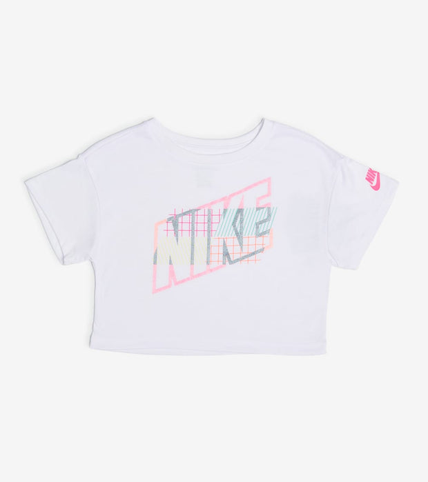 Nike  Girls Now You See Me Tee  White - 36H395-001 | Aractidf