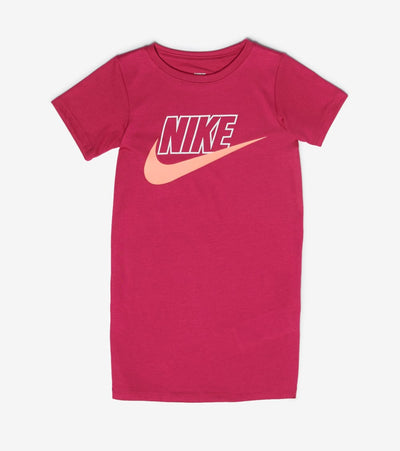 Nike  Girls Futura Tee Dress  Purple - 36H590-A0I | Aractidf