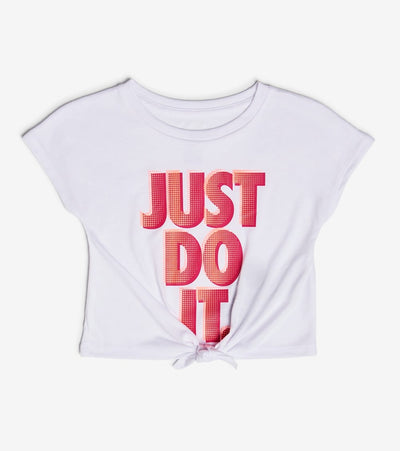 Nike  Girls Just Do It Tee  White - 36H729-001 | Jimmy Jazz