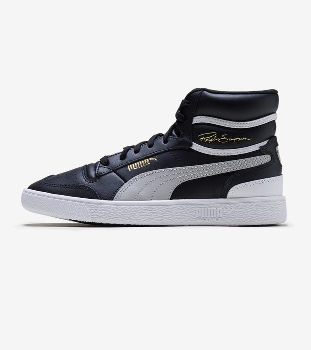 Puma  Ralph Sampson Mid  Black - 370925-01 | Jimmy Jazz