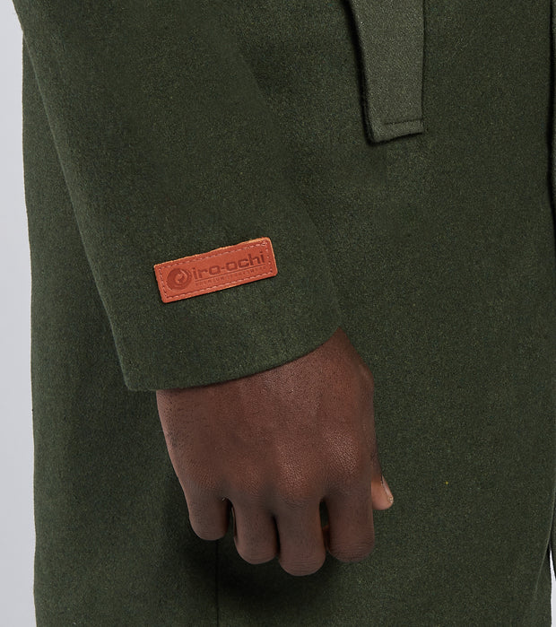 Iro-Ochi  Soko Trench Coat  Green - 37311-OLV | Jimmy Jazz