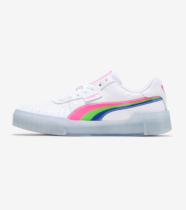Puma  Cali Neon Iced  White - 373478-02 | Jimmy Jazz