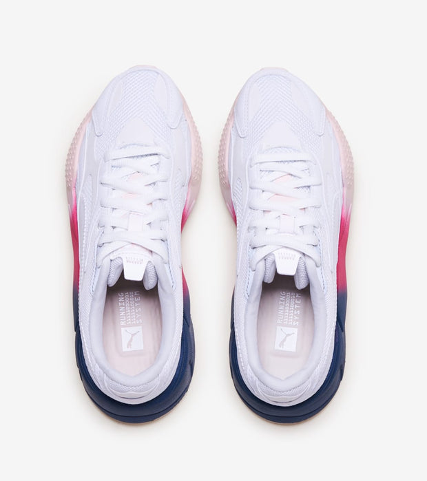 Puma  RS-X Leather Fade  White - 374657-01 | Jimmy Jazz
