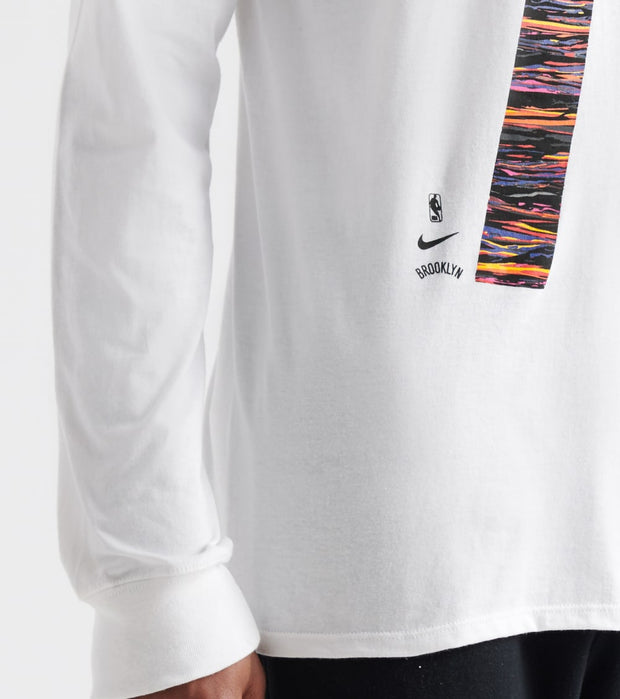 Nike  Brooklyn Nets Biggie Tee  White - 37996X-BN2 | Jimmy Jazz