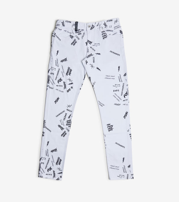Armani Exchange  AX Print Denim  White - 3HZJ14Z6AAZ-1100 | Jimmy Jazz