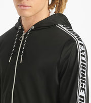 Armani Exchange  AX Zip Up Hoodie  Black - 3HZMFMZ8M8Z-1200 | Jimmy Jazz