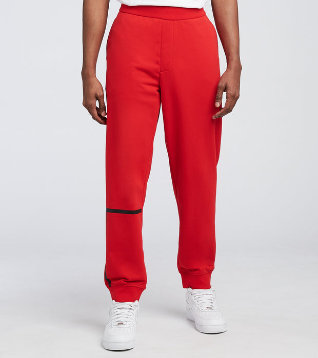 Armani Exchange  Pantaloni Unbrushed Fleece Joggers  Red - 3KZPFEZJ9FZ-1400 | Jimmy Jazz