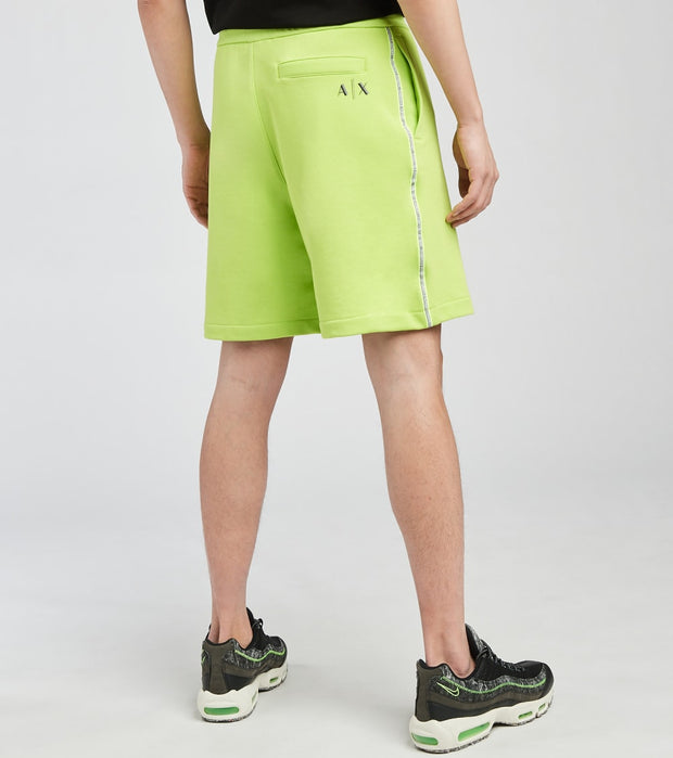 Armani Exchange  Bermuda Poly Fleece Shorts  Green - 3KZSFJZJ6HZ-1853 | Jimmy Jazz