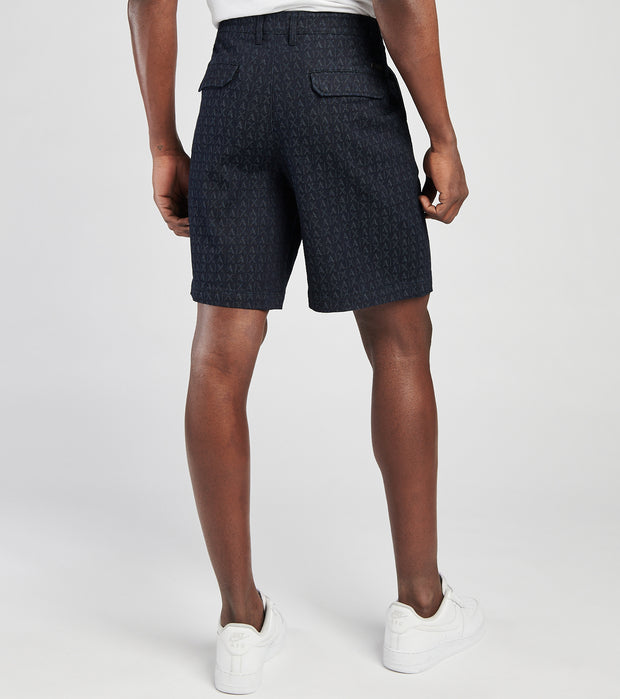 Armani Exchange  Bermuda Stretch Shorts  Blue - 3KZSL7ZDALZ-2573 | Jimmy Jazz