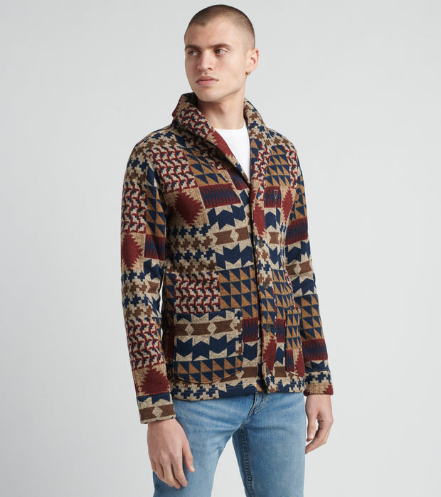 Levis  Getner Long Sleeve Cardigan Sweater  Multi - 3LGLK2205-RDR | Jimmy Jazz