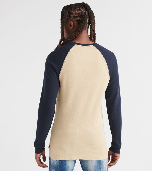 Levis  Energy Raglan Long Sleeve Thermal  Beige - 3LVYM2790RTH-KHN | Jimmy Jazz