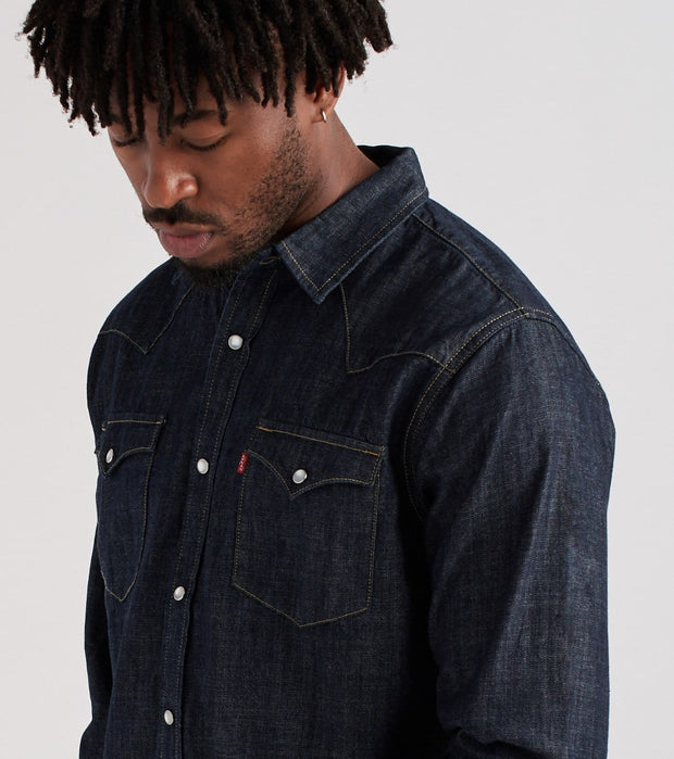 Levis  Standard Western Denim Shirt  Blue - 3LYLW2262-DRN | Jimmy Jazz