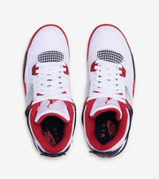 Jordan  Air Jordan 4 Retro Fire Red  White - 408452-160 | Jimmy Jazz