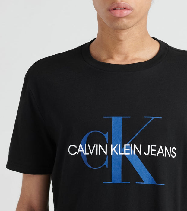 Calvin Klein  Unboxed Monogram Logo Tee  Black - 41Q9138-010 | Jimmy Jazz