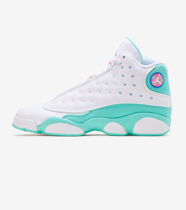 Jordan  Air Jordan 13 Retro Soar Green  White - 439358-100 | Jimmy Jazz