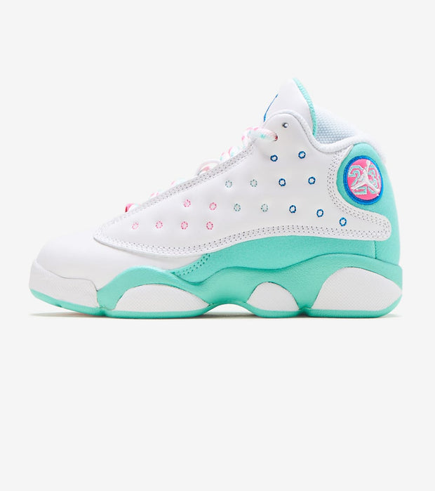 Jordan  Air Jordan 13 Retro Soar Green  White - 439669-100 | Jimmy Jazz