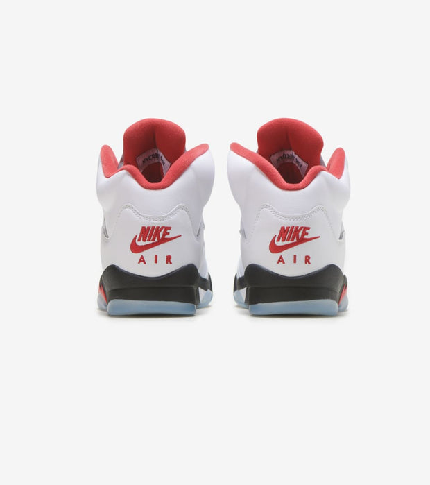 "Jordan  Air Jordan 5 Retro ""Fire Red""  White - 440888-102 