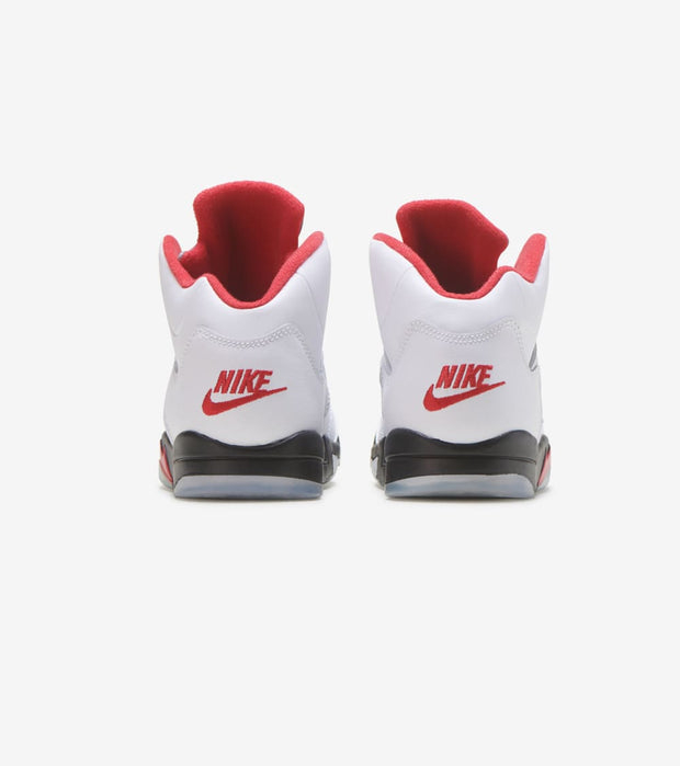 "Jordan  Air Jordan 5 Retro ""Fire Red""  White - 440889-102 