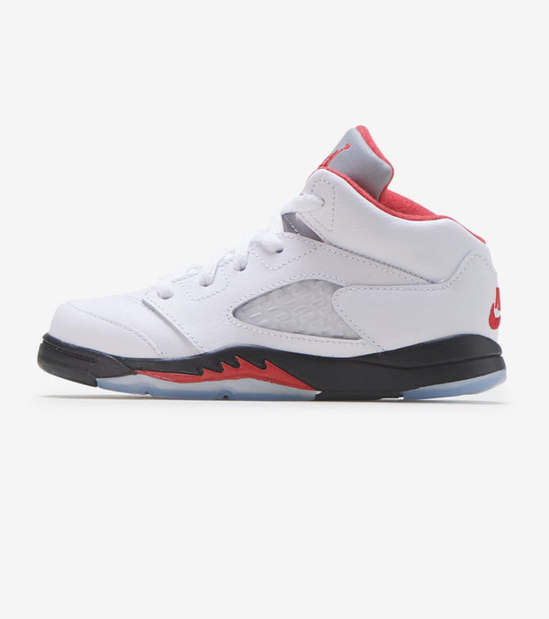 "Jordan  Air Jordan 5 OG ""Fire Red""  White - 440890-102 