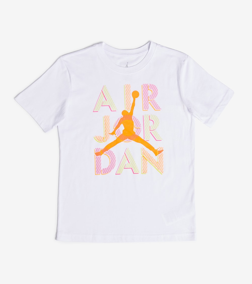 Jordan  Air Jordan 4 Gym Class Stack Tee  White - 45A271-001 | Jimmy Jazz