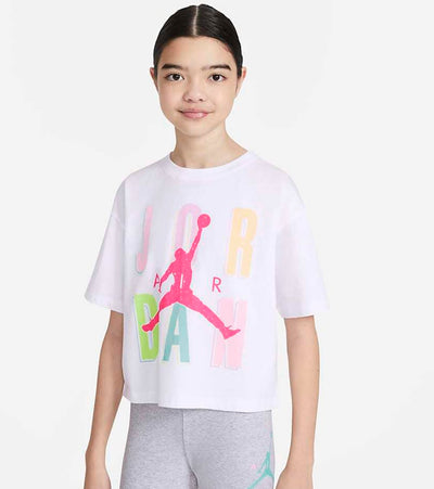 Jordan  Girls Sweets and Treats Tee  White - 45A409-001 | Jimmy Jazz
