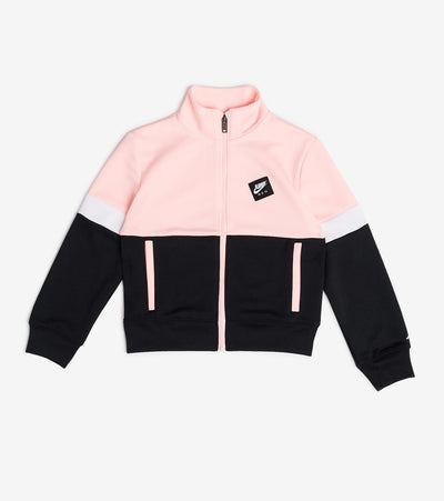 Jordan  Girls Jumpman Tricot Full Zip Jacket  Pink - 45A480-A6A | Jimmy Jazz