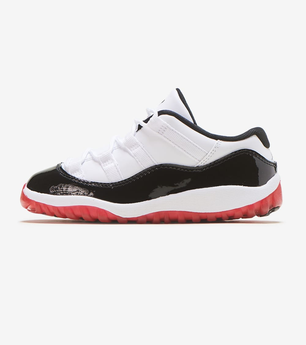 Jordan  Air Jordan 11 Retro Low Concord Bred  White - 505836-160 | Jimmy Jazz