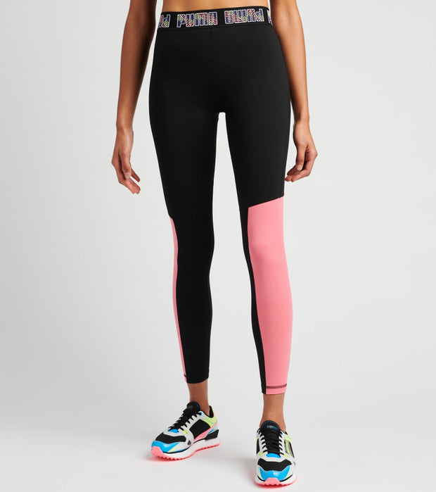 Puma  Logo Elastic Leggings  Black - 51894507-001 | Jimmy Jazz