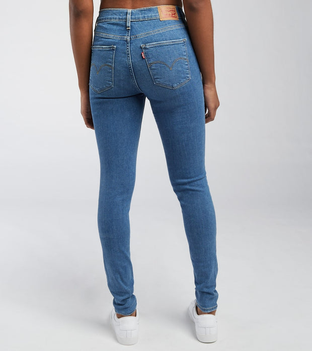 Levis  720 High Rise Super Skinny Jeans L30  Blue - 52797-0195 | Jimmy Jazz