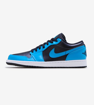 Jordan  Air Jordan 1 Low   Blue - 553558-410 | Jimmy Jazz