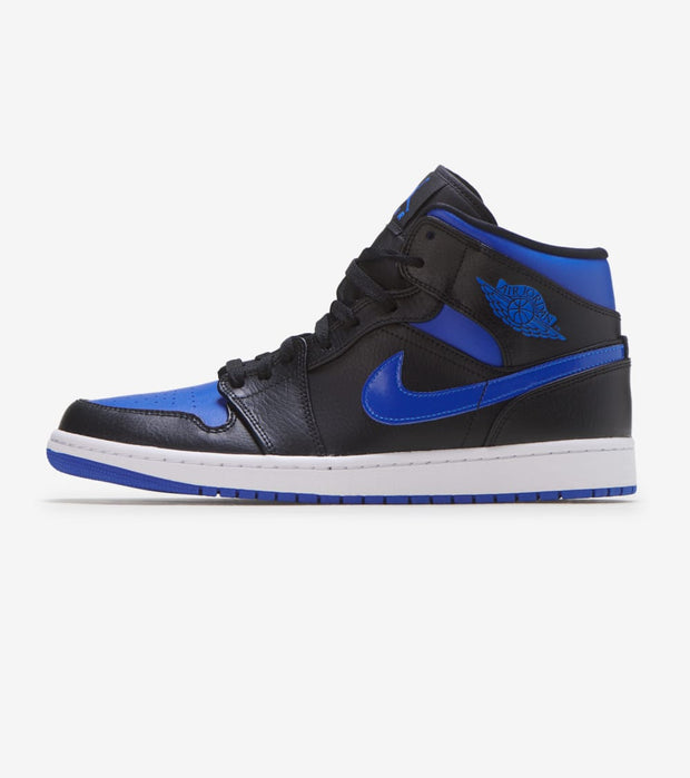 Jordan  Air Jordan 1 Mid   Black - 554724-068 | Jimmy Jazz