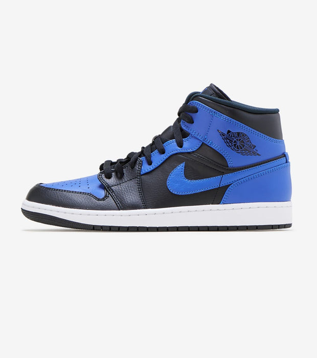 Jordan  Air Jordan 1 Mid  Black - 554724-077 | Jimmy Jazz