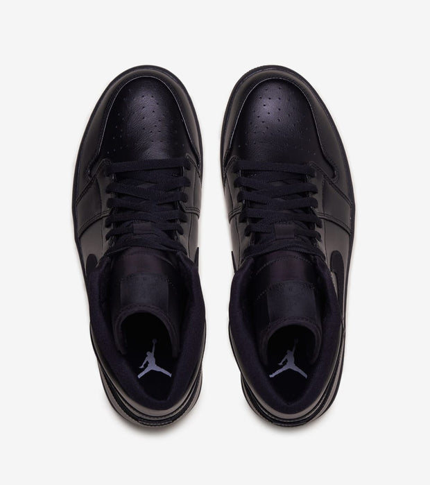 Jordan  Air Jordan 1 Mid  Black - 554724-090 | Jimmy Jazz