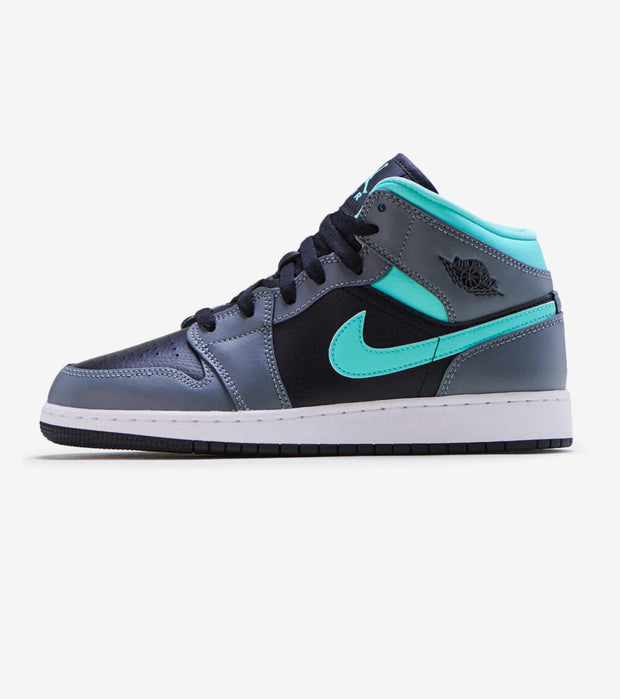 Jordan  Air Jordan 1 Mid   Black - 554725-063 | Jimmy Jazz