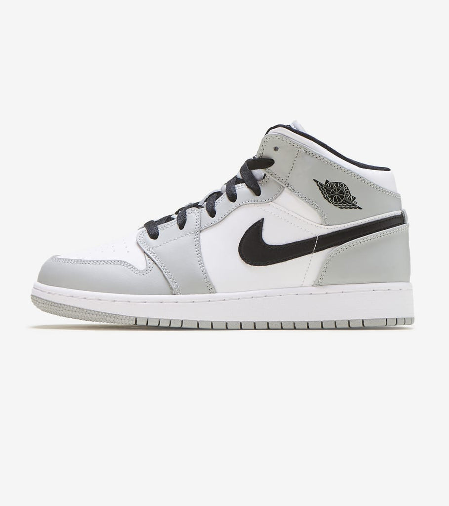 Jordan Air Jordan 1 Mid Smoke Grey Grey 554725 092 Jimmy Jazz