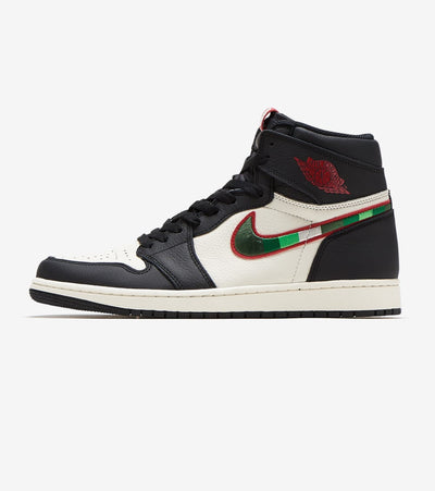 Jordan  Air Jordan Retro 1 Hi OG  Black - 555088-015 | Jimmy Jazz