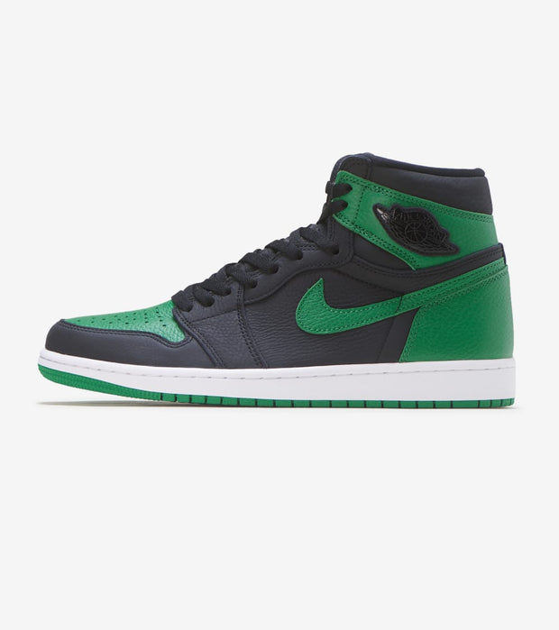 "Jordan  Air Jordan 1 Retro High OG ""Pine Green""  Black - 555088-030 
