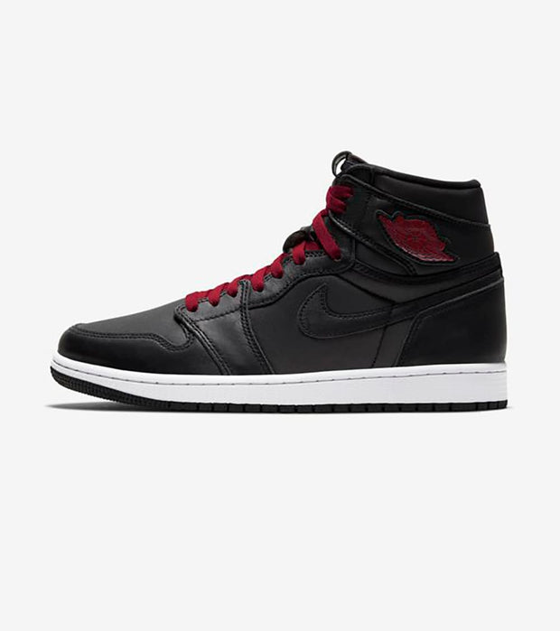 "Jordan  Air Jordan 1 Retro High OG ""Black Satin""  Grey - 555088-060 