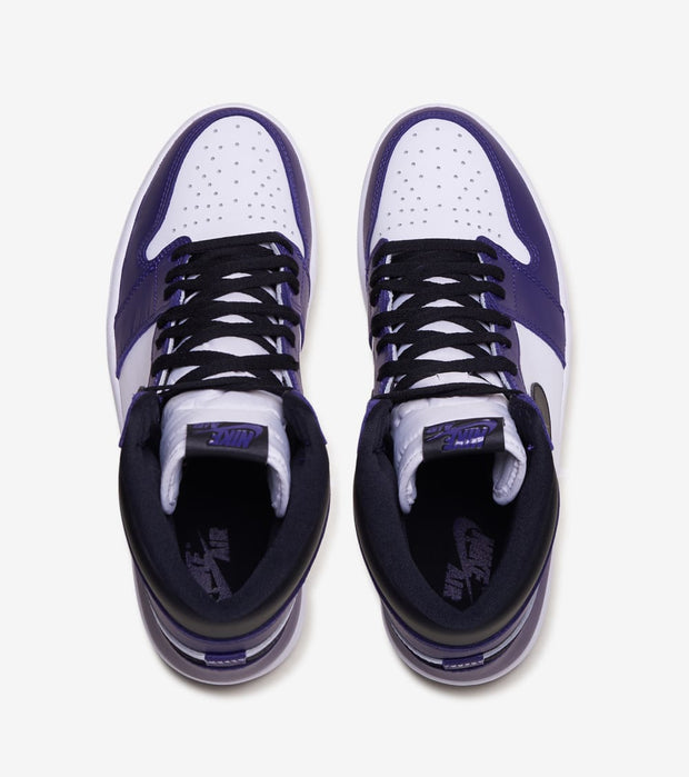 "Jordan  Air Jordan 1 Retro Hi OG ""Court Purple""  Purple - 555088-500 