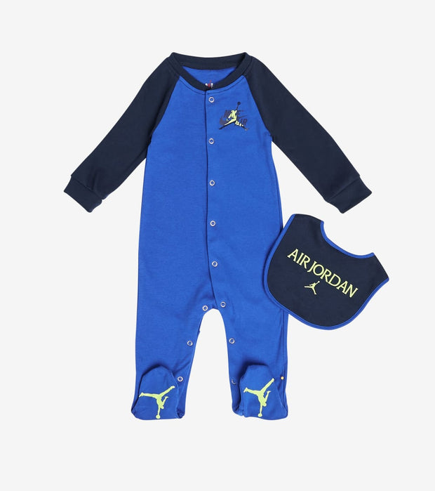 Jordan  Newborn Boys Jumpman Classic 2 Piece Set  Blue - 556454-U5H | Jimmy Jazz